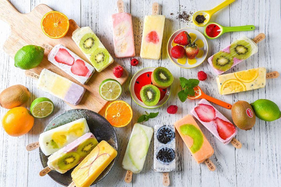 視覺系枝仔冰是社群網站夏日秀自拍的最佳道具。圖/ihergo愛合購提供