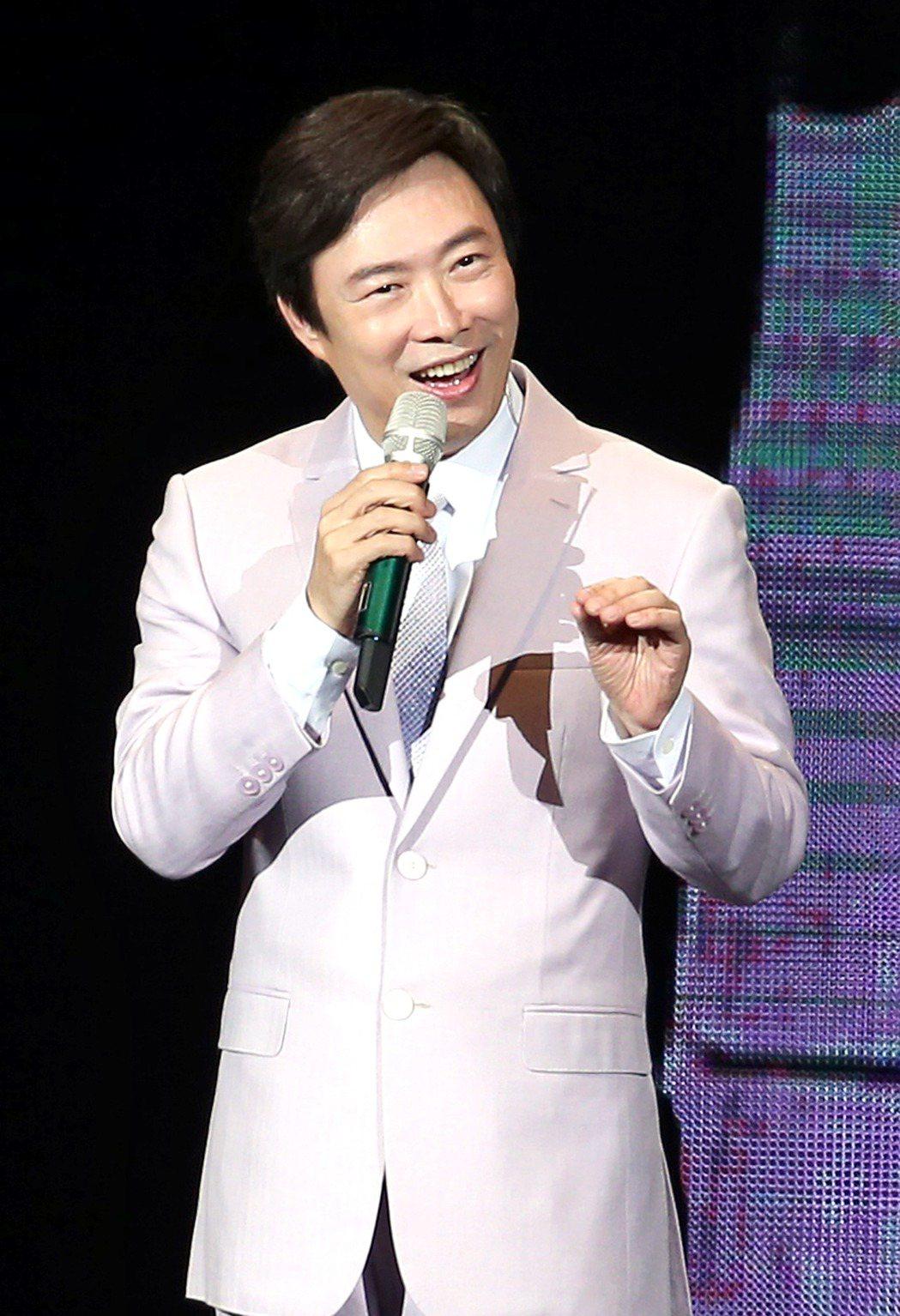 費玉清昨天在台北小巨蛋開唱。記者屠蕙剛/攝影