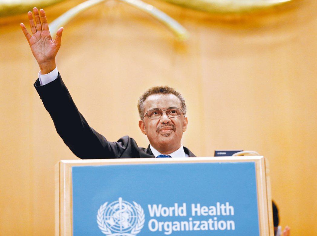 衣索匹亞瘧疾專家泰德洛斯7月出任世衛組織總幹事。 路透