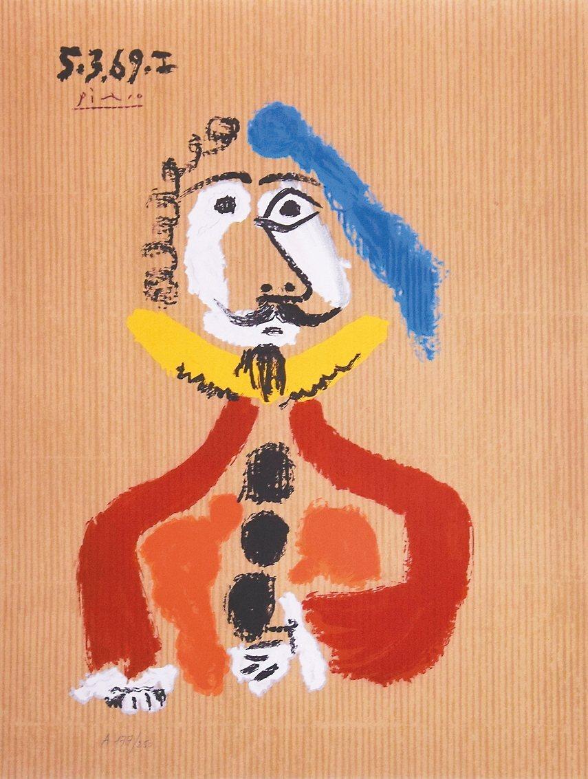 「畢卡索:想像中的人物肖像」展。 史博館/提供
