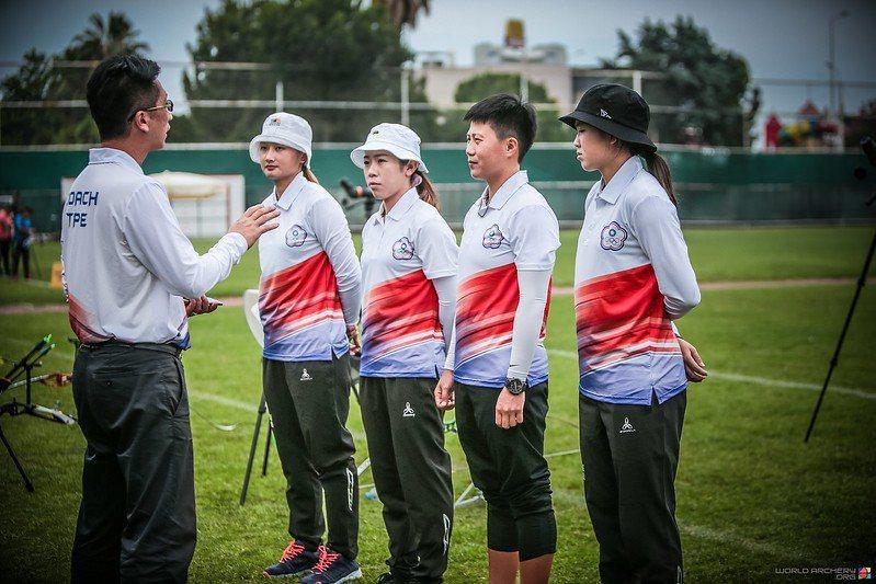 中華女子射箭隊。 擷圖自世界射箭總會官網