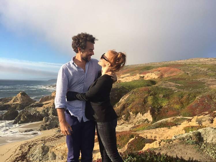 潔西卡崔絲坦與男友吉安低調交往多年。圖/擷自instagram
