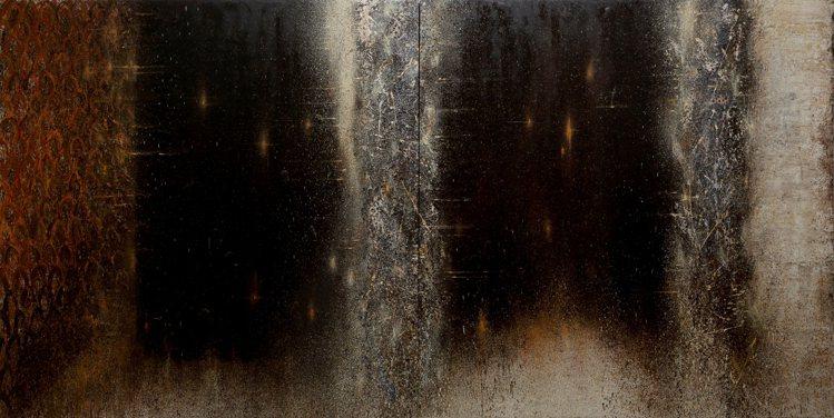 江賢二作品「百年廟」。圖/小美術館提供