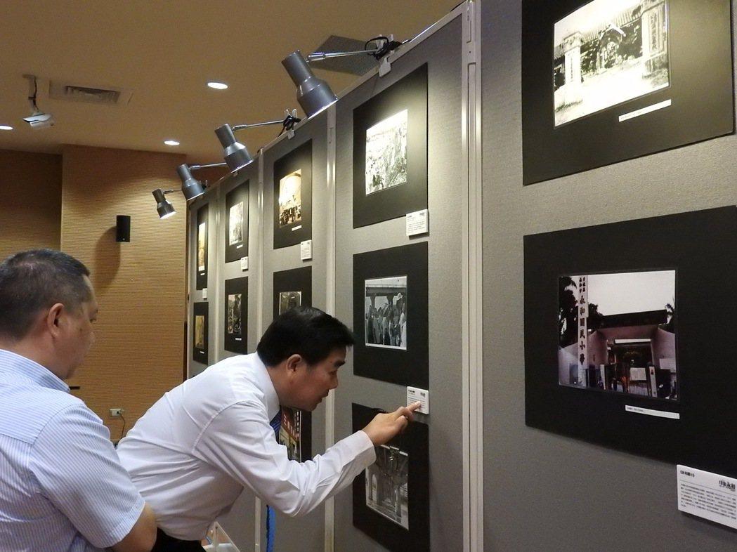 新北市議員羅文崇與新北市文創協會舉辦永和圖像展,匯集百張新舊永和面貌在永和國父紀...