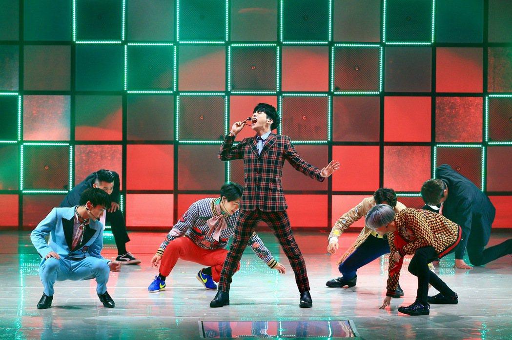 韓團SHINee天在新莊體育館舉行演唱會。記者林伯東/攝影