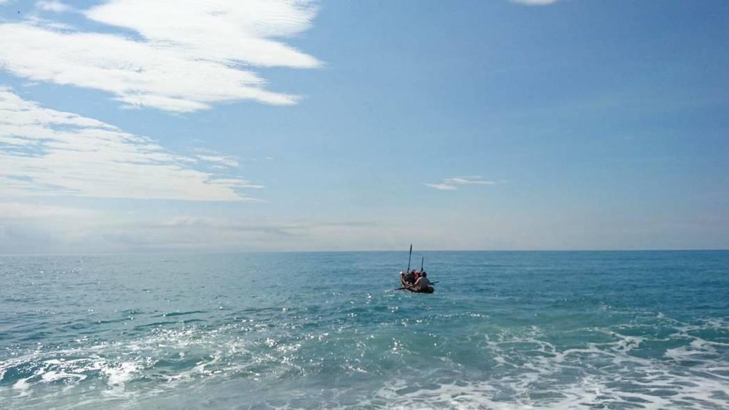 「IRA號」今天橫渡黑潮到綠島,預計深夜11點到。圖/史前館提供資料照