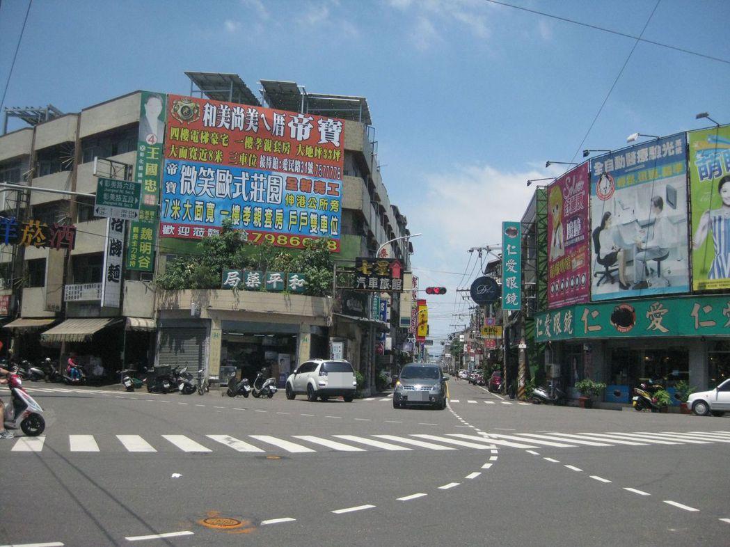 彰化縣和美鎮「送肉粽」路線已定案,將從巷口出來,走彰美路六段。記者簡慧珍/攝影