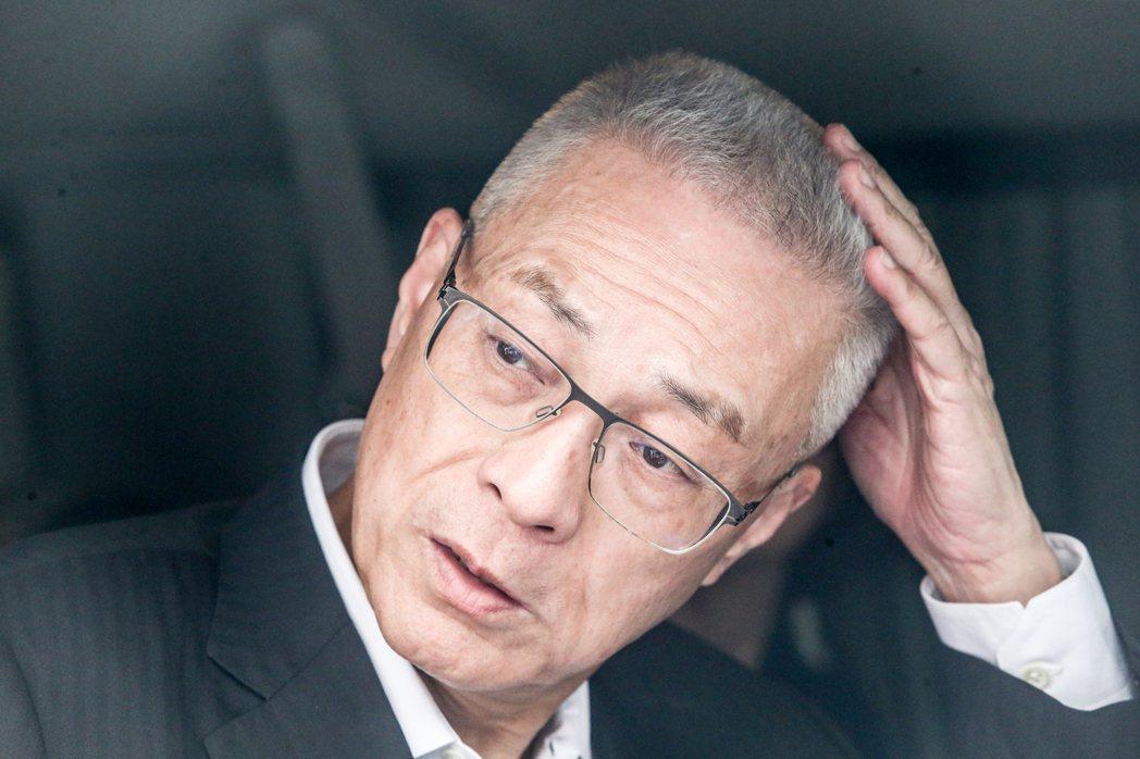 國民黨主席當選人吳敦義。 聯合報系資料照片/記者黃仲裕攝影