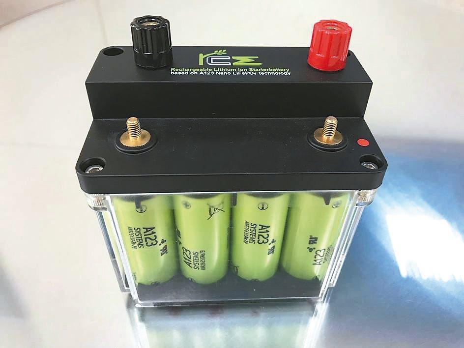 RCE新款鋰鐵電池性能、功能、外觀、使用介面都獲得高評價。 RCE/提供