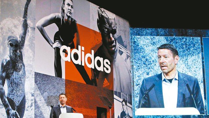 愛迪達執行長羅思德接掌公司還不到一年,在他的帶領下,這家德國運動服飾大廠已締造驚...