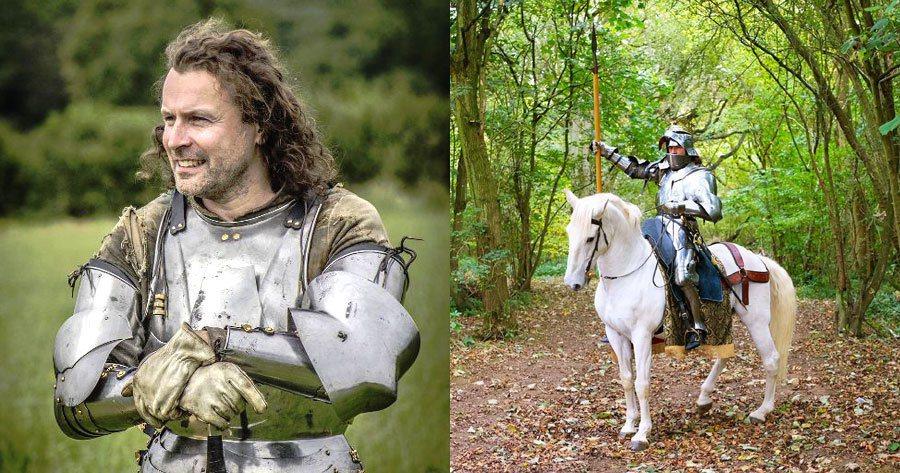 Rebellion執行長金斯利(Jason Kingsley)興趣是模擬中古世紀...