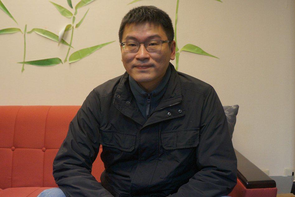 台北市議員梁文傑。 聯合報系資料照片/記者邱瓊玉攝影