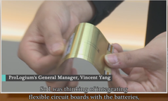 Video/The hidden Champion: ProLogium, discloses the world only bendable lithium battery.