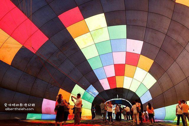台灣熱氣球嘉年華示意(Flickr授權作者-Albert Hsieh)
