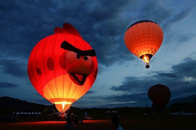 台灣熱氣球嘉年華示意(Flickr授權作者-小斌-鋒秀劍芒)