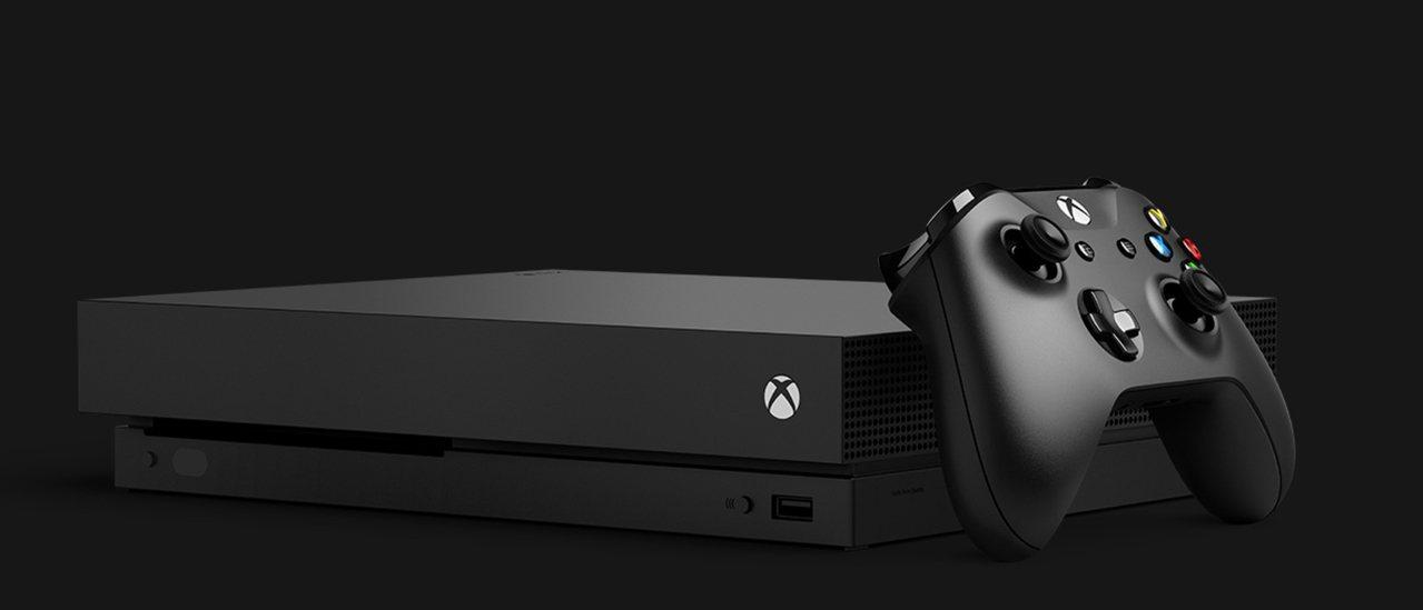 微軟Xbox One X號稱地表最強遊戲主機。圖/摘自Xbox官網