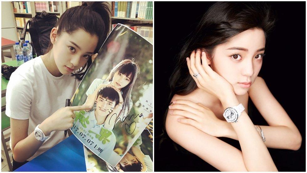 將滿17歲生日,歐陽娜娜不後悔休學當藝人。圖/摘自IG