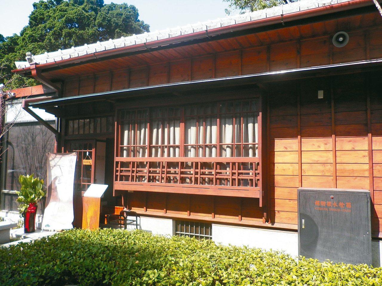 台中文學館原本是日據時期的警察宿舍。 楊明.圖片提供