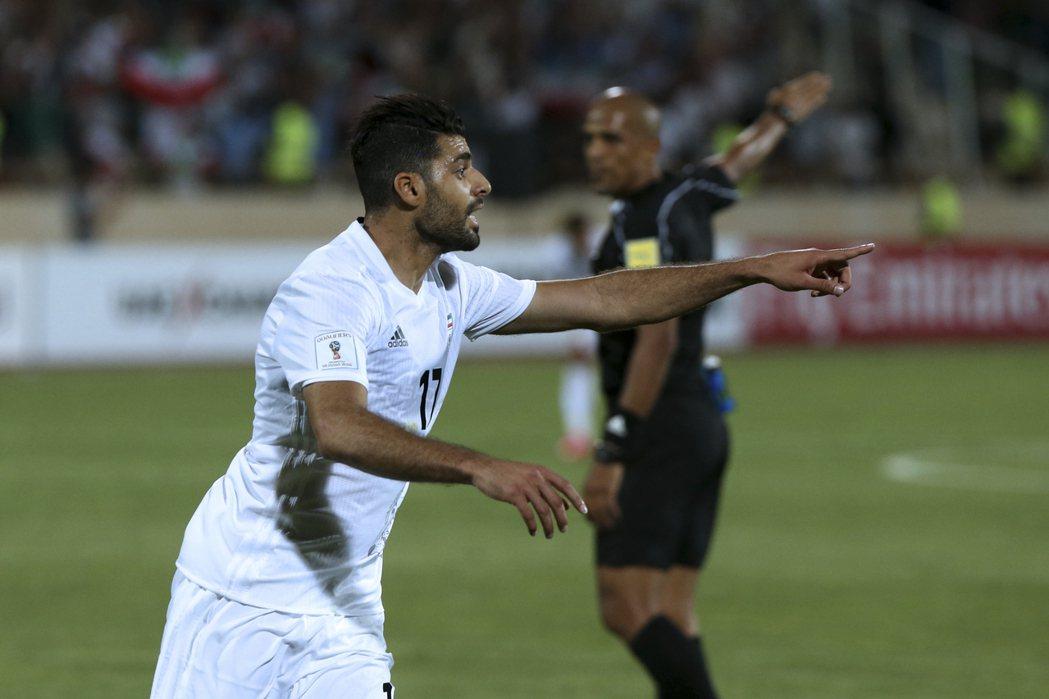 伊朗挺進世界盃會內賽。 美聯社