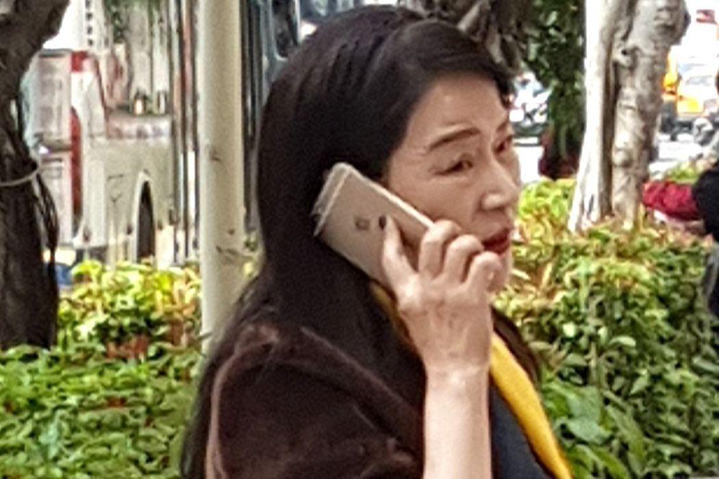 媒體人周玉蔻。記者王宏舜/攝影