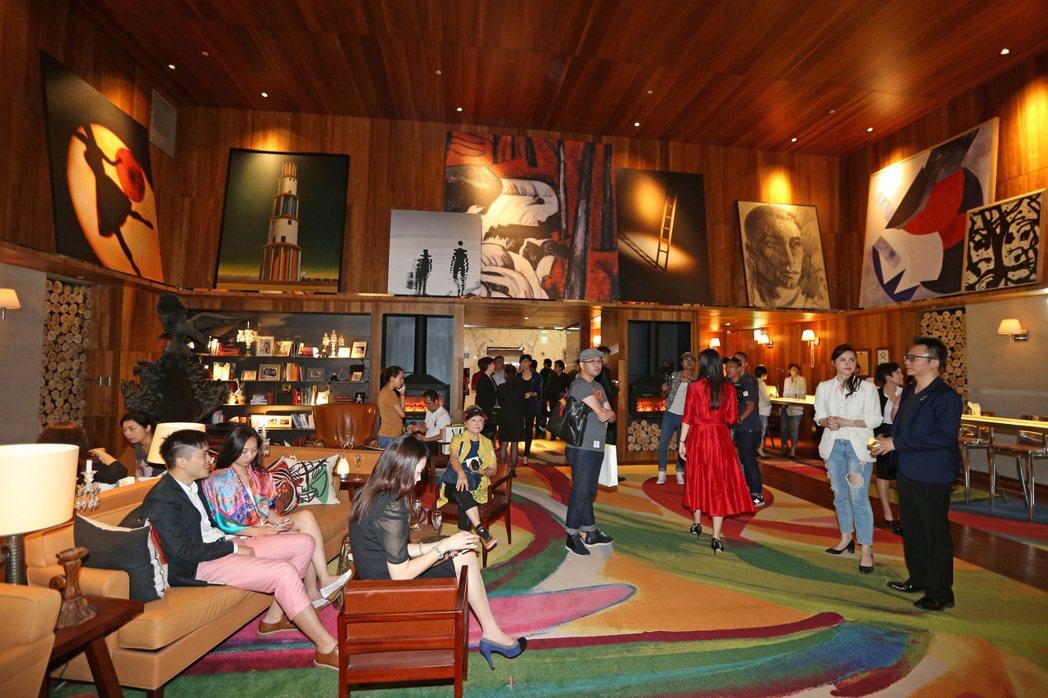 大S、汪小菲出席S Hotel開幕,為自家旅館造勢。記者陳柏亨/攝影