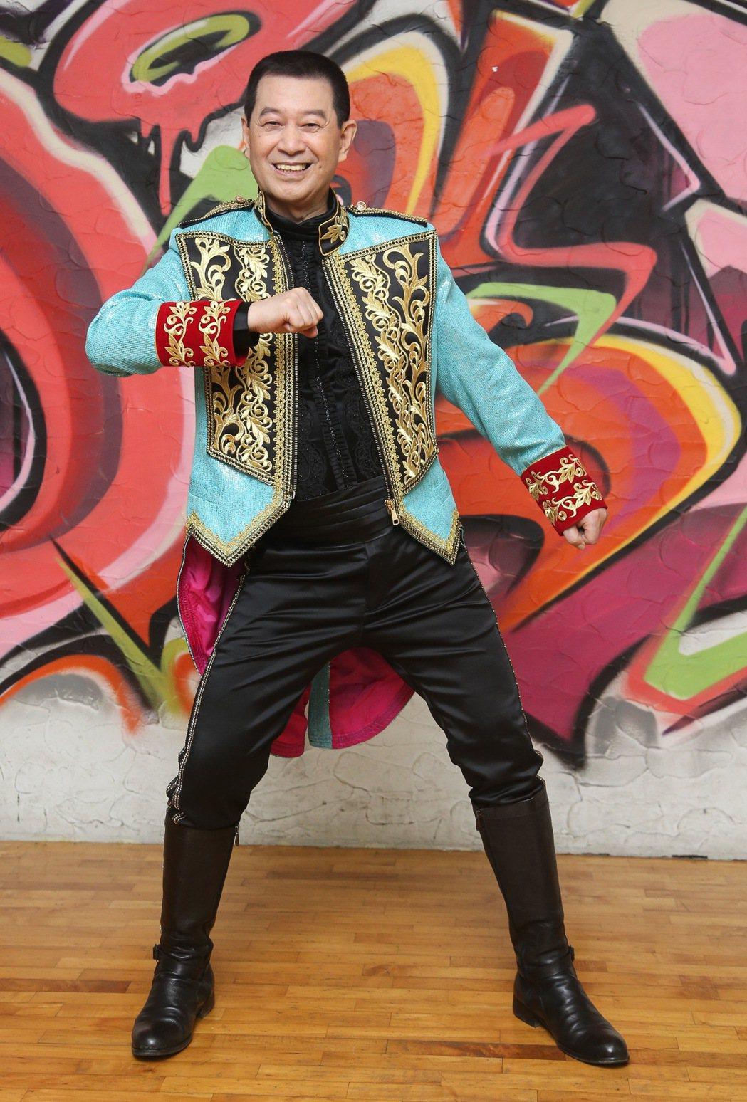 歌手蔡小虎將舉辦個人演唱會,首度公開練舞。記者黃威彬/攝影