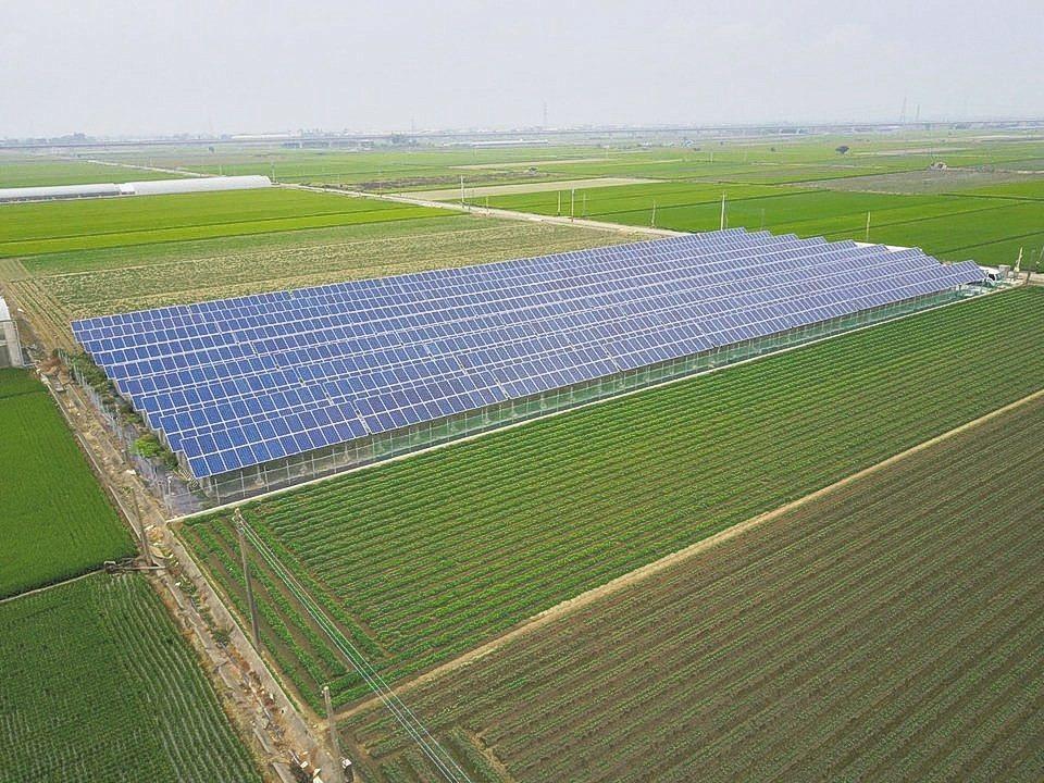 太陽能農棚有「上面收電價、下面收菜價」的想像空間;但業者大嘆賠錢,已不想再投入。...