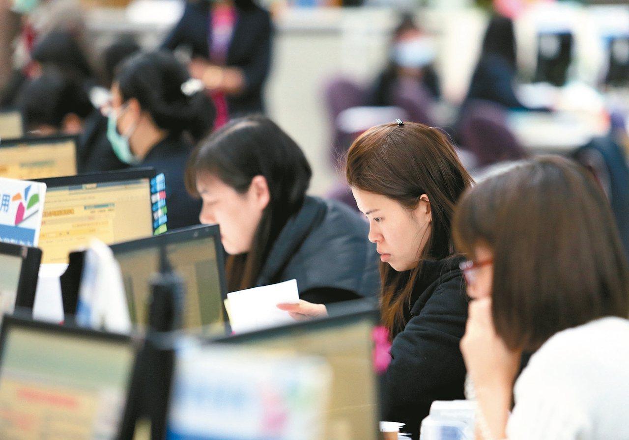 萬寶華調查,低薪是造成台灣人才外流主因。 報系資料照