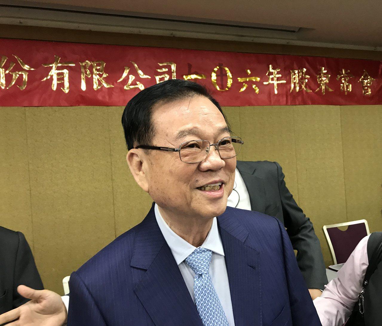 皇翔董事長廖年吉。記者游智文/攝影