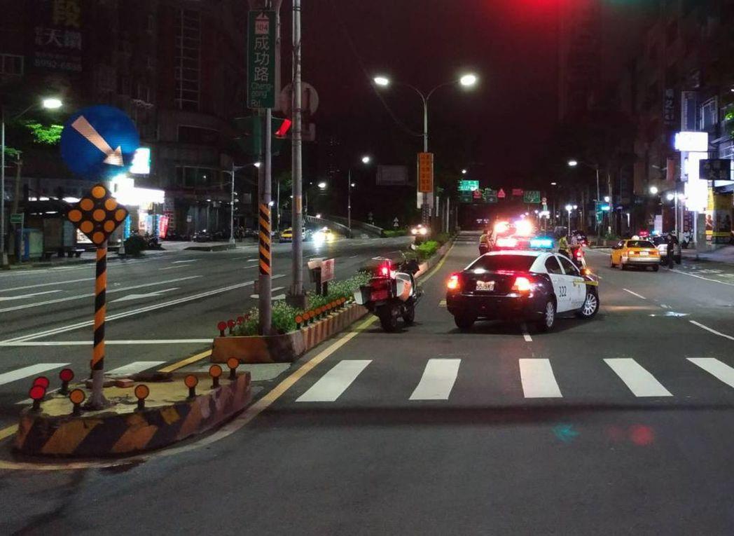 事故發生在成功、集成路口。 記者林昭彰/翻攝