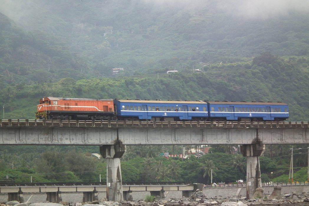 台鐵台東工務段解釋橋梁護欄是用來防護工程人員安全,並不是防護火車,所以對火車通行...