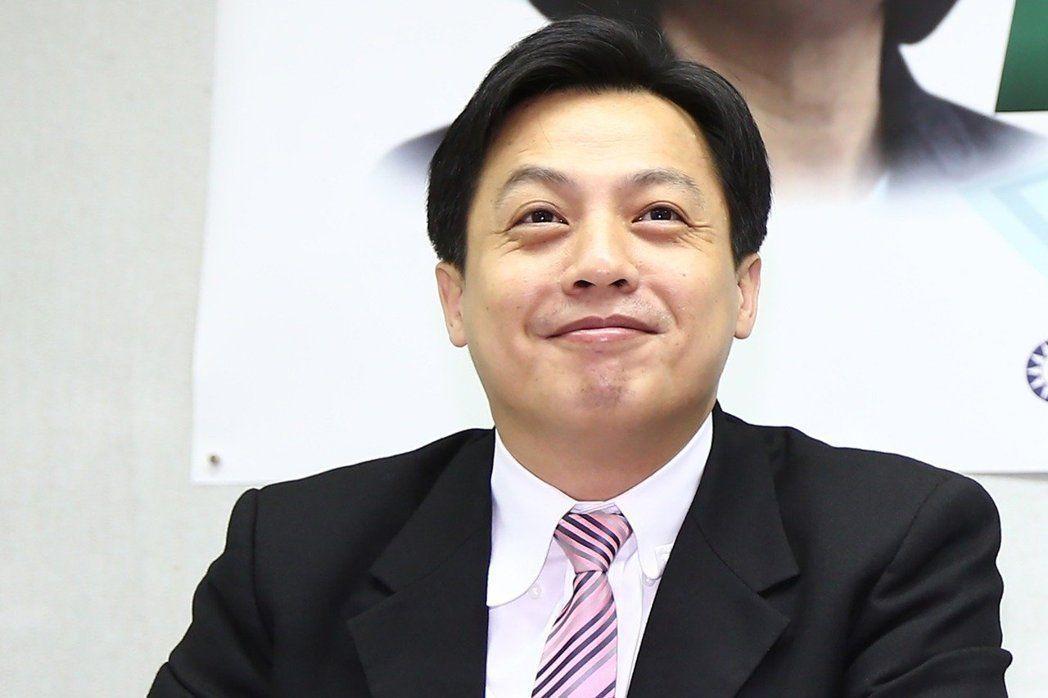 國民黨發言人、文傳會副主委李明賢。聯合報系資料照