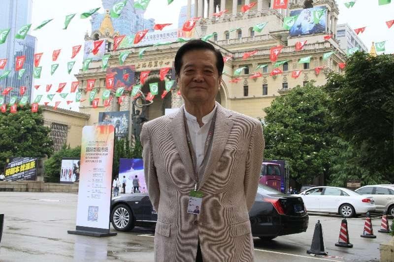 中華節目內容製作產業發展協會理事長汪威江主辦今年上海電視節。圖/ 中華節目內容製