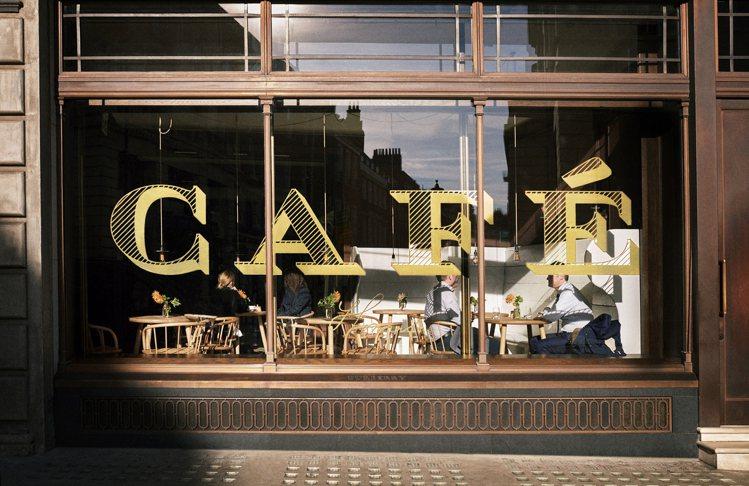 BURBERRY早餐會在品牌旗下的Thomass Cafe舉辦。圖/BURBER...