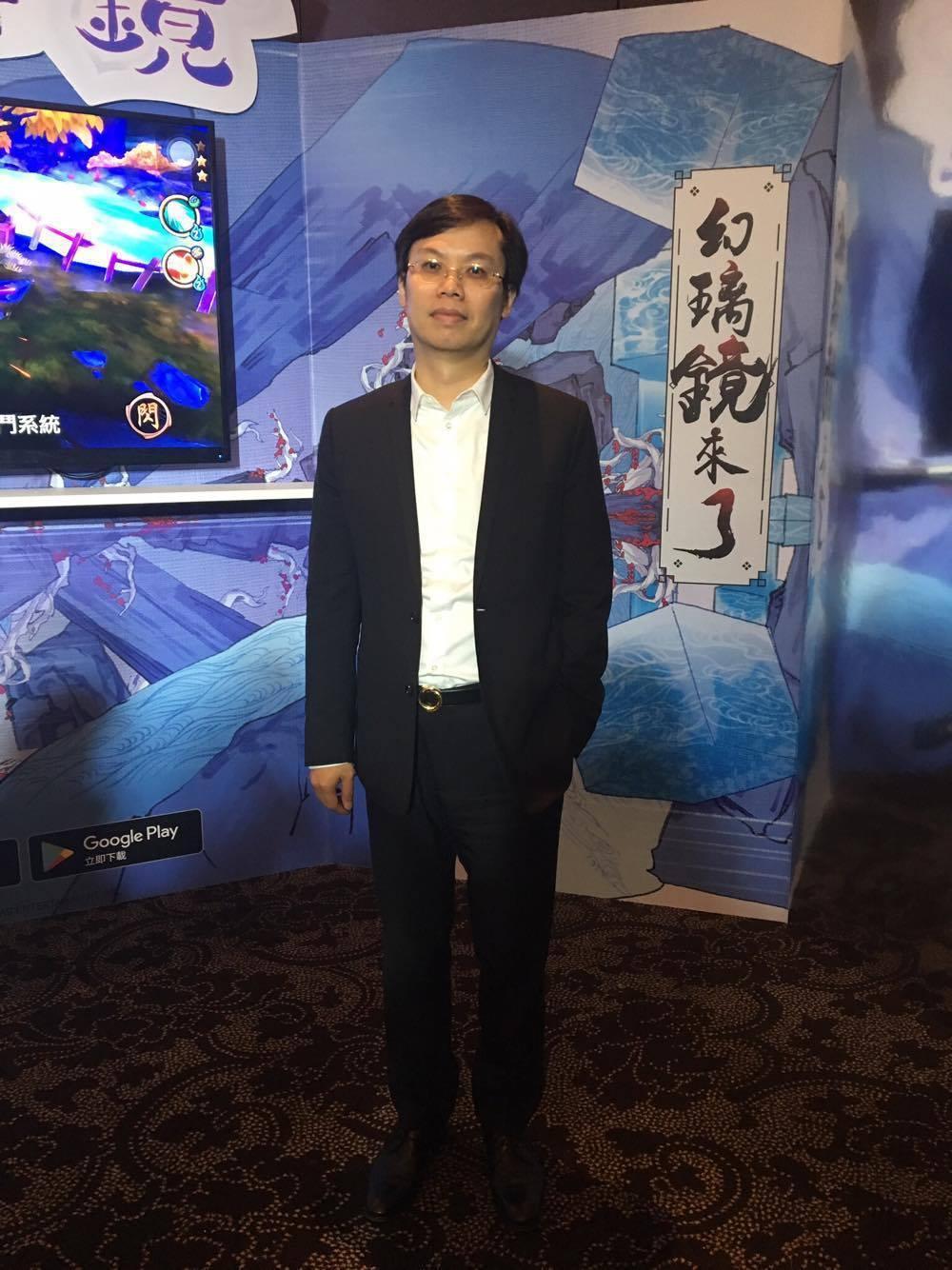 大宇資訊董事長凃俊光今(13)日出席《仙劍奇俠傳-幻璃鏡》上市慶功...
