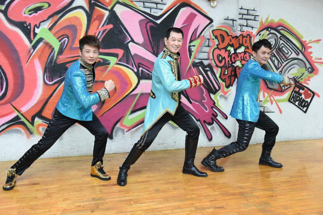 蔡小虎率外甥莊振凱、蔡佳麟三人合組「老虎隊」。圖/翔彩儀提供