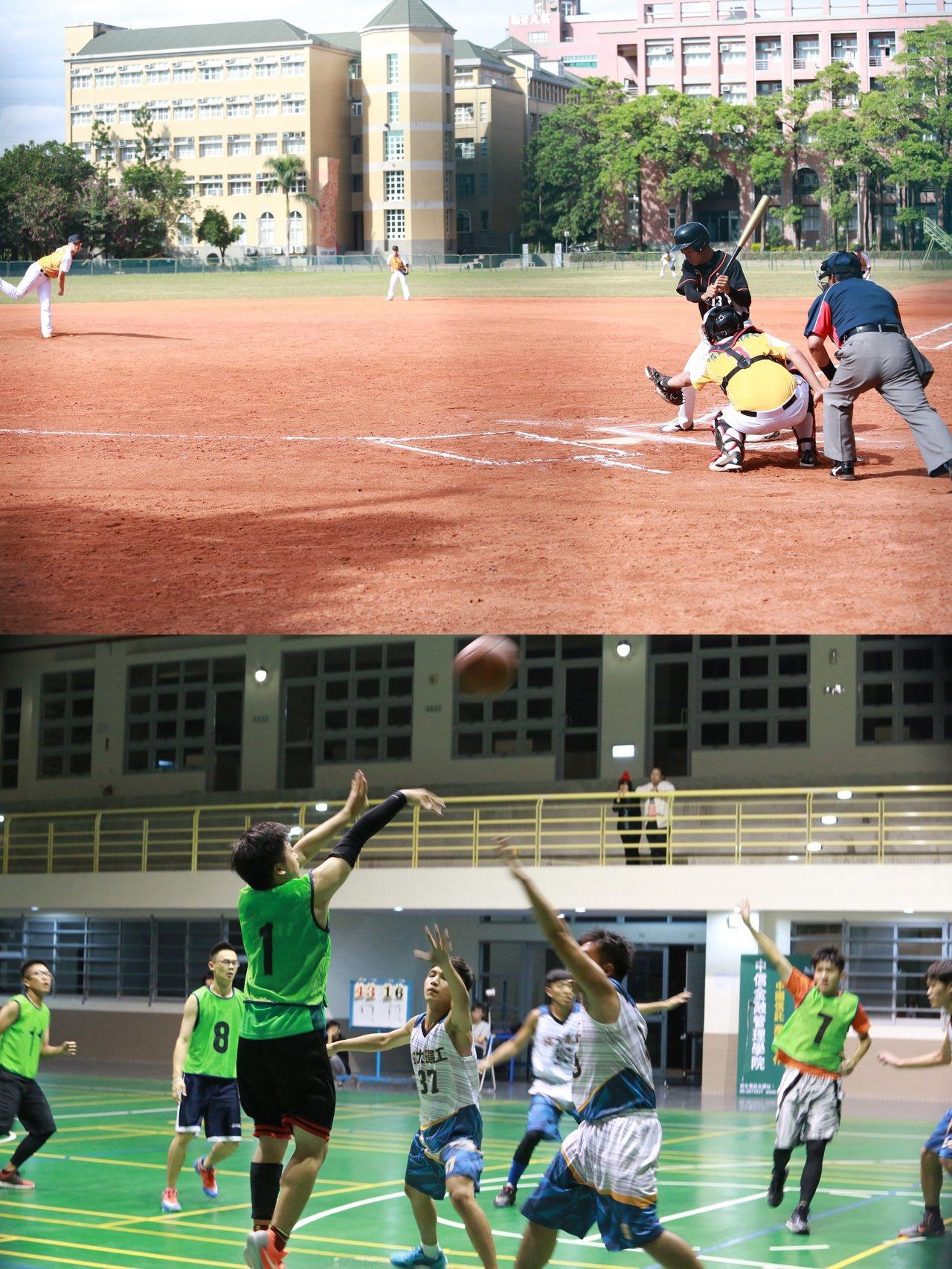 中信金融管理學院及CIA校內設有室內多功能體育館,可供籃球、網球、羽毛球、排球等...