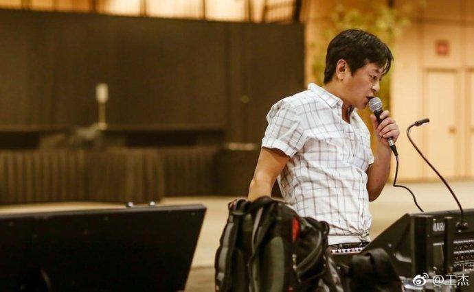 王傑突然宣布退出樂壇,引起外界好奇。圖取自微博