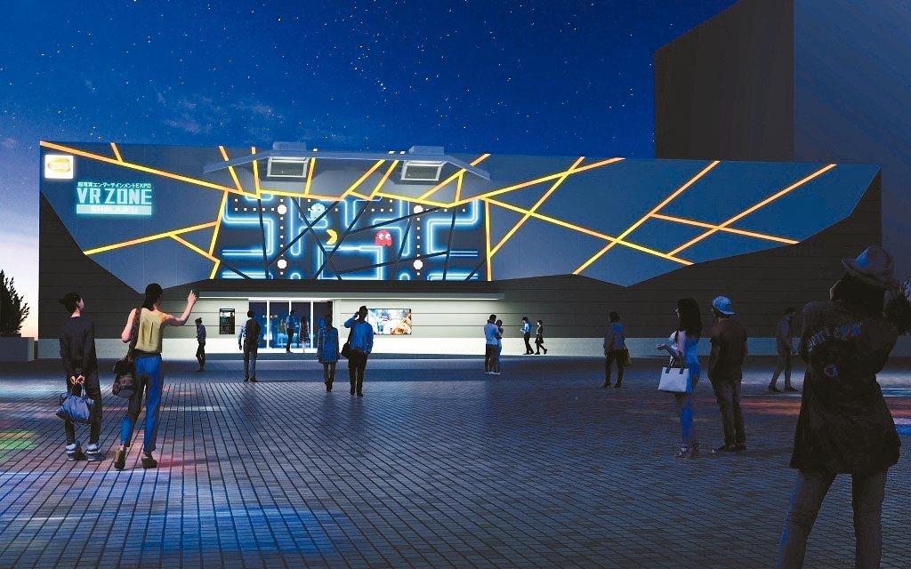 宏達電與萬代南夢宮合作的VR樂園。 圖/宏達電提供