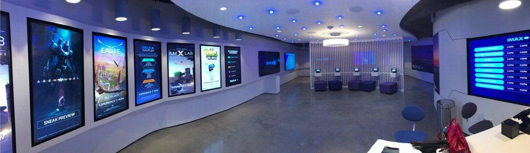 HTC IMAX VR體驗中心正式於紐約AMCKips Bay 15影城開幕。圖...