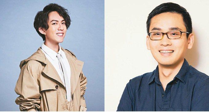 林宥嘉(左)將和導演周東彥(右)跨界合作,在金曲獎上表演。 圖/台視提供