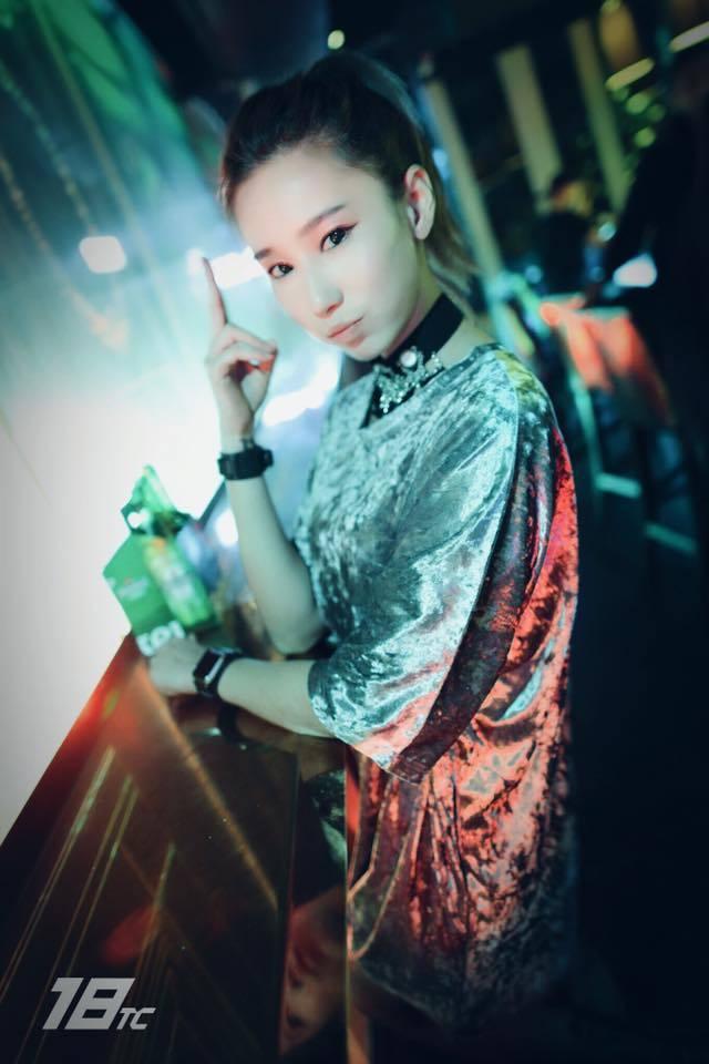 美女DJ Jamie在DJ圈頗有名氣。 圖/擷自Jamie Q臉書
