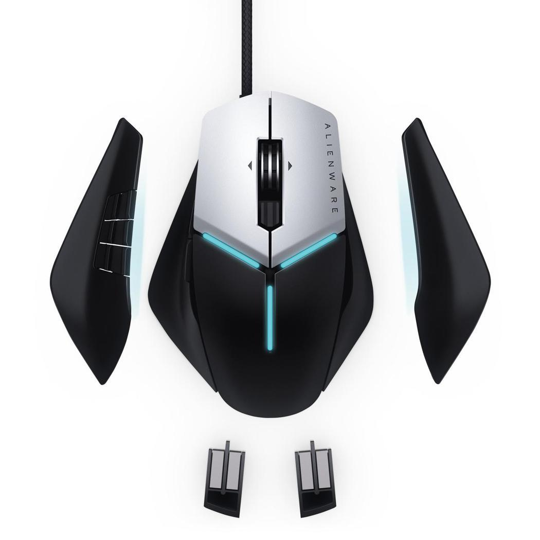 Alienware菁英級電競專用滑鼠。 戴爾/提供