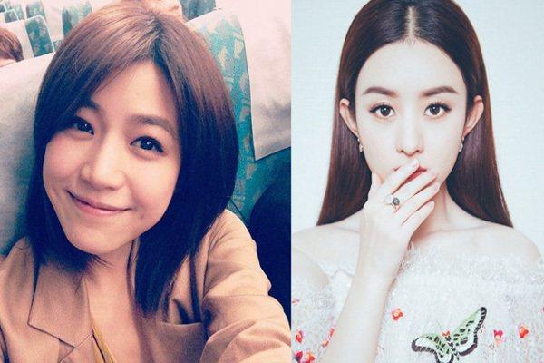 圖/趙麗穎官方微博、陳妍希官方粉絲團,Beauty美人圈提供