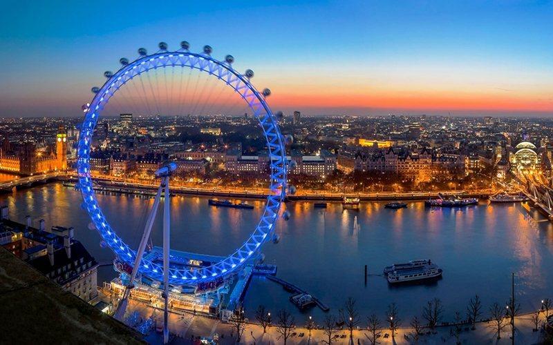 倫敦眼。 (來源:http://blog.imonholidays.com/lo...