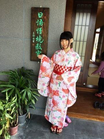 郭美玲從小喜愛日本文化,費了一番功夫才終於就讀日文系。圖/明道大學提供