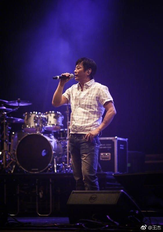 王傑日前無預警宣布退出樂壇。圖/取自微博