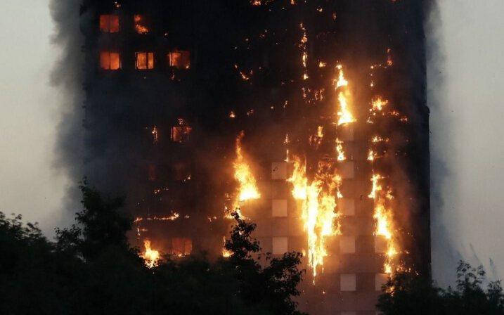 格倫菲大樓建於1974年,屋齡43年,全棟有120戶,共27層樓,據新德里電視台...