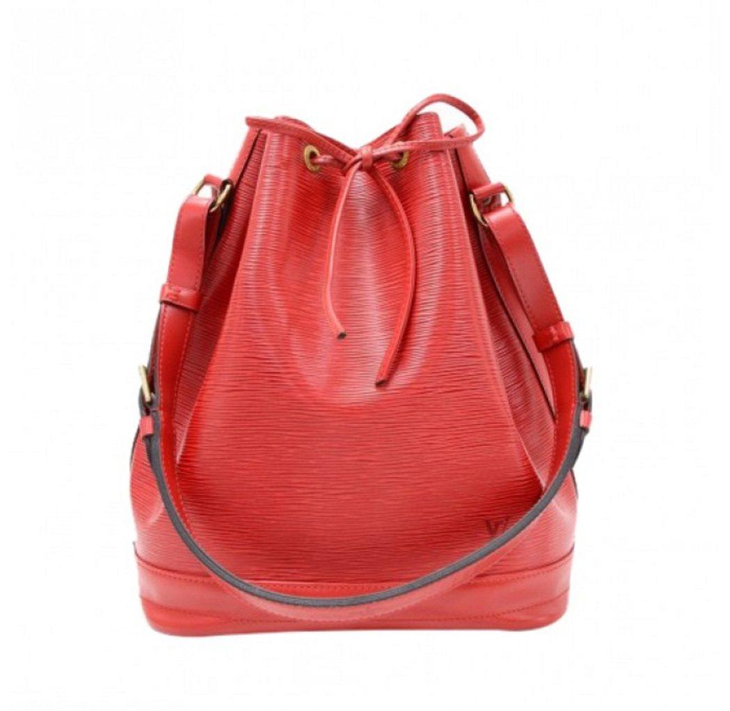LOUIS VUITTON紅色EPI水桶包,原價66,000元。圖/禮客OUTL...