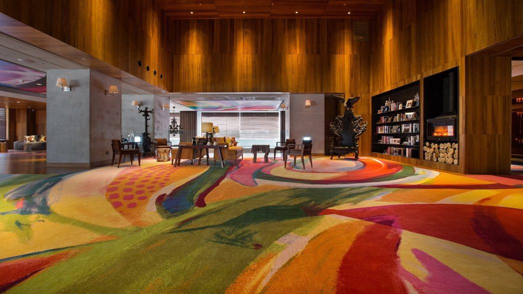 S HOTEL大廳。圖/S HOTEL提供
